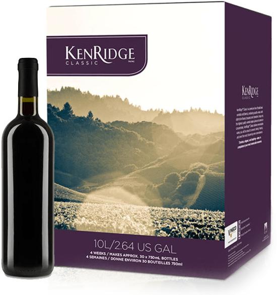KenRidge Classic Wine Ingredient Kit