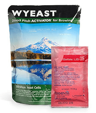 Liquid Beer Yeast and Dry Beer Yeast