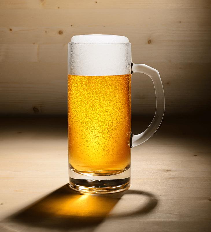 Made Using A German Pilsner Beer Recipe