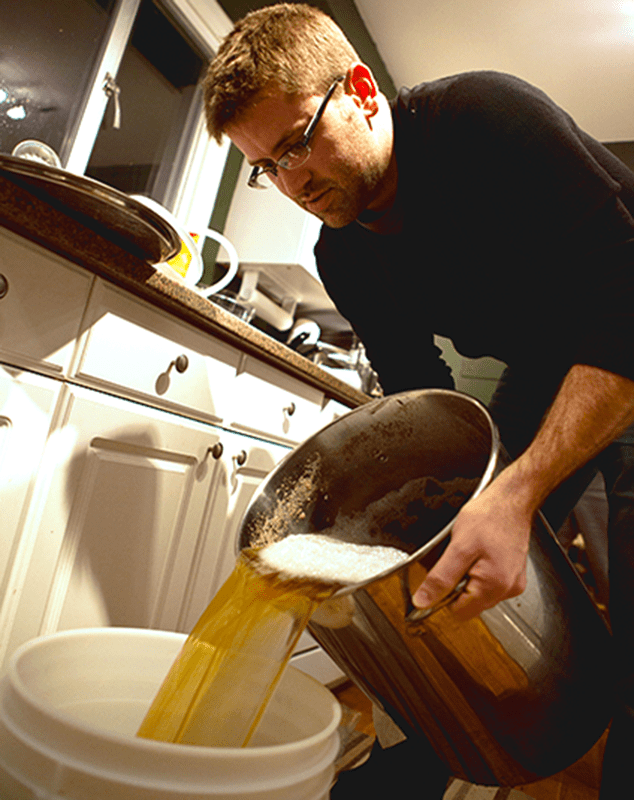Person Becoming A Better Homebrewer