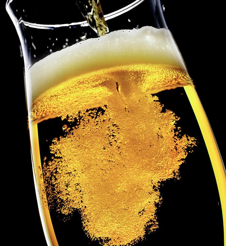 Pilsner Beer In Glass