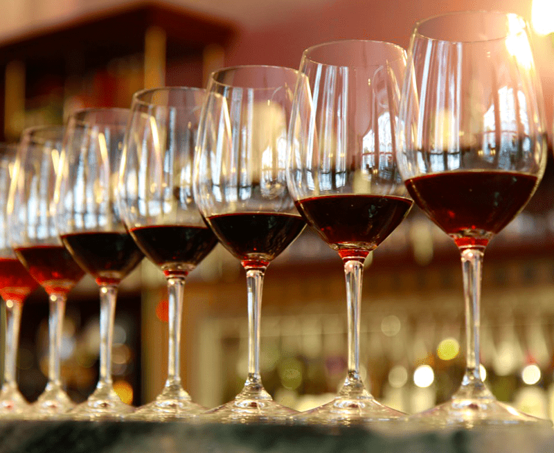 A Bench Trial Of Red Wines.
