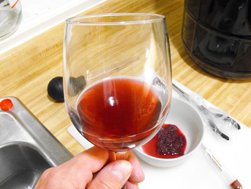 Salty Homemade Wine