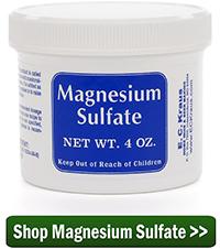 Shop Magnesium Sulfate