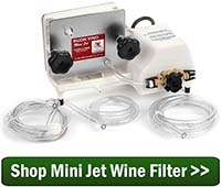 Shop Mini Jet Wine Filter