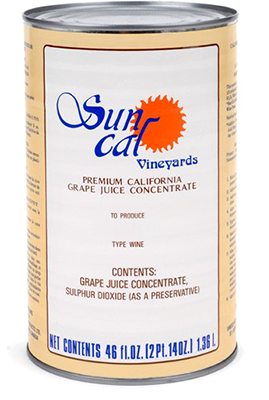 SunCal Wine Concentrate