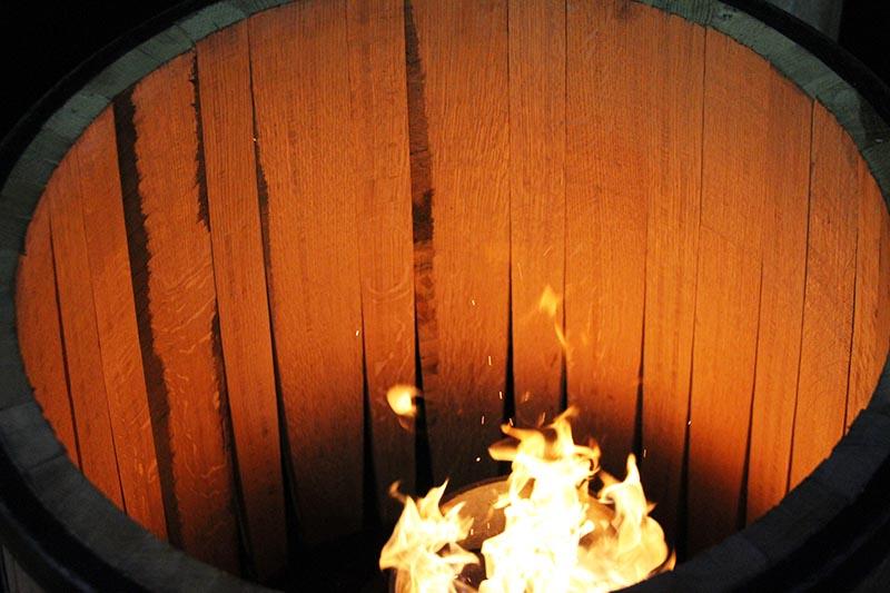 Toasting Oak For Wine