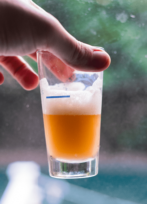 Unfiltered Beer