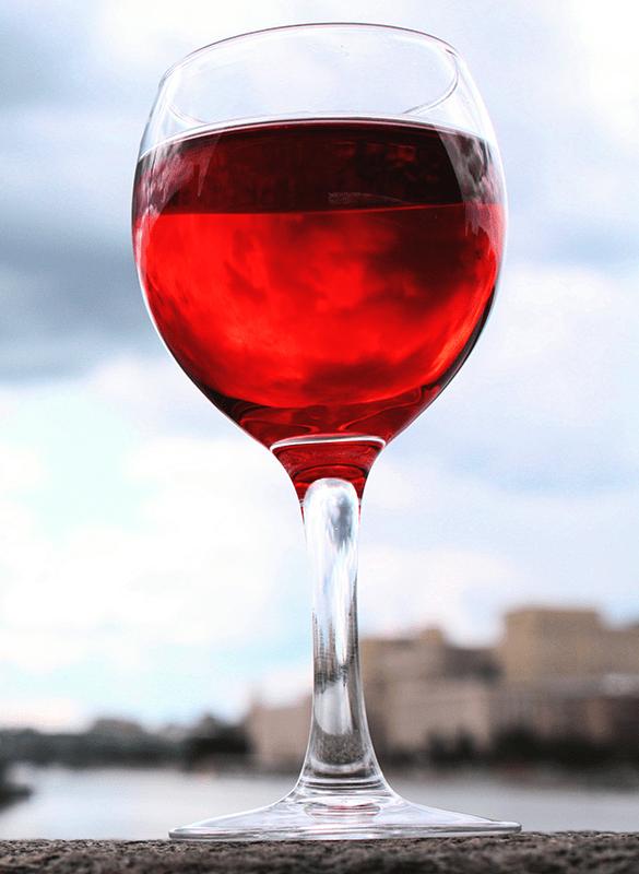 Wine With Haze