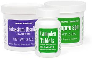 Potassium Bisulfite, Campden Tablets, Ceanpro SDH