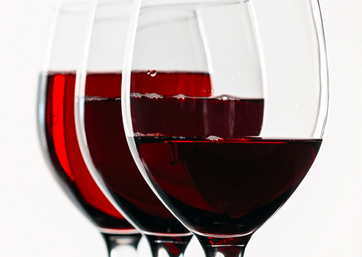 Results when adding more color to wine.
