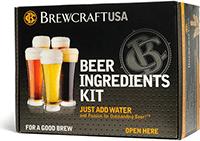 Brewcraft wheat beer ingredient kit