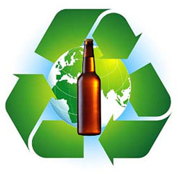 Eco-Friendly Brewing Symbol