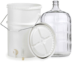 Plastic Fermenters And Wine Carboys