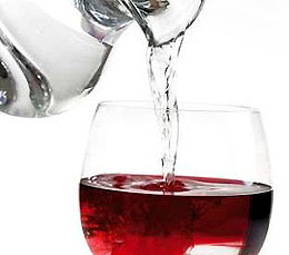 Wine Diluted With Water