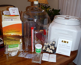 Unpacked Winemaking Starter Kit