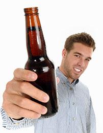 Bottle Of Homebrew Beer