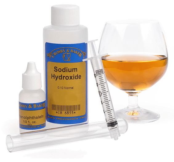 Using Acid Test Kit  On A Mead