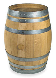 Toast Oak Wine Barrel