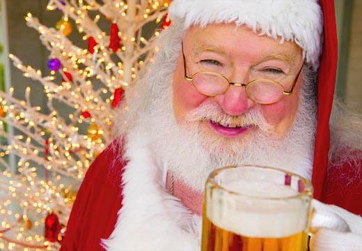 Santa Bringing Home Brewing Gift Ideas