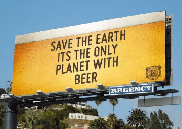 Sustainable Brewing Billboard
