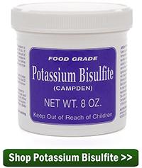 Shop Potassium Metabisulfite