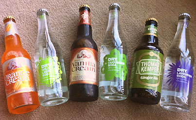 Soda Pop For Making Shandy With Beer