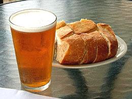 Spent Grain Bread Made From Recipe