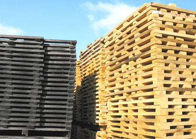 Stacked Staves Is Just Part Of How Oak Chips Are Made