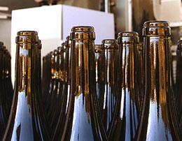 Wine Bottles Ready For Bottling Homemade Wine