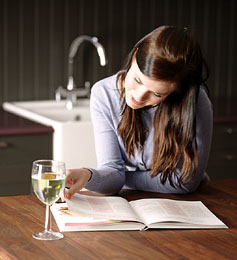 Reading Wine Making Book About Wine Making Process