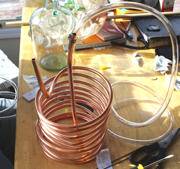Wort Chiller On A Table
