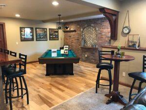 billiard room and pub table