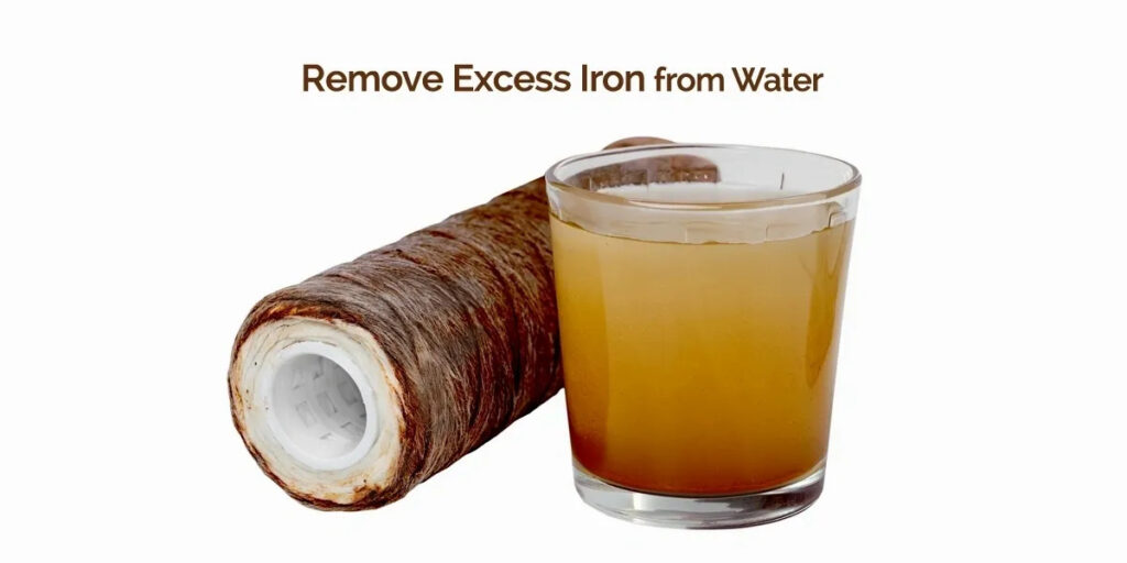 Excess Iron From Water