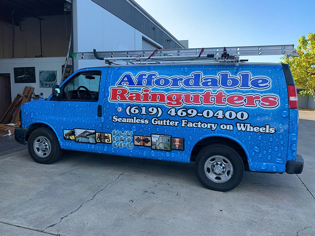 Affordable Raingutters Van