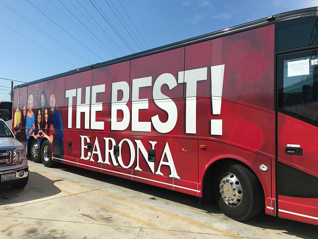 Barona Bus Wrap