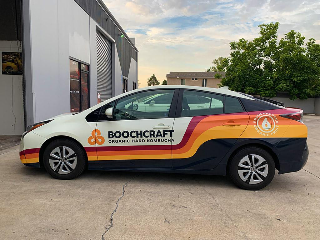 Full Printed Vehicle Wrap