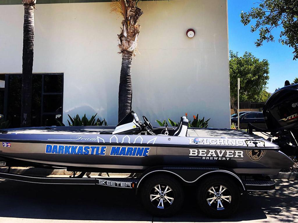Skeeter Fishing Boat Wrap