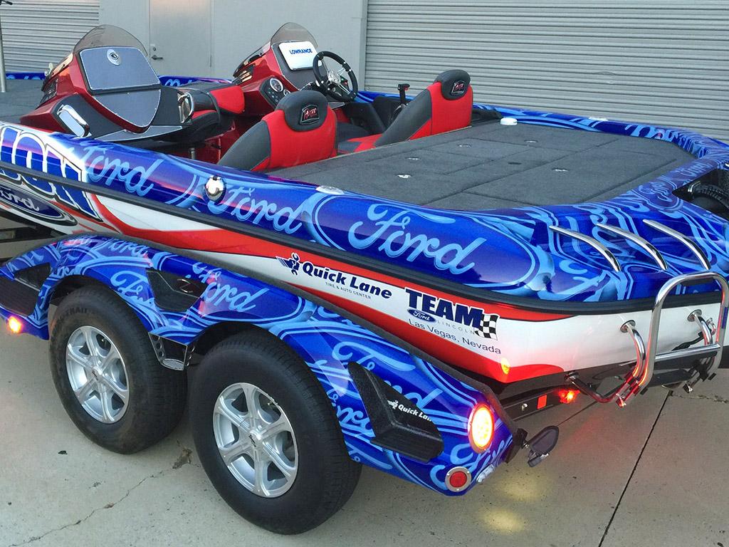 Ranger Boat Wrap
