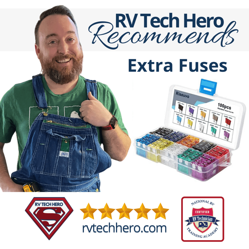 RV Tech Hero Recommends having extra fuses