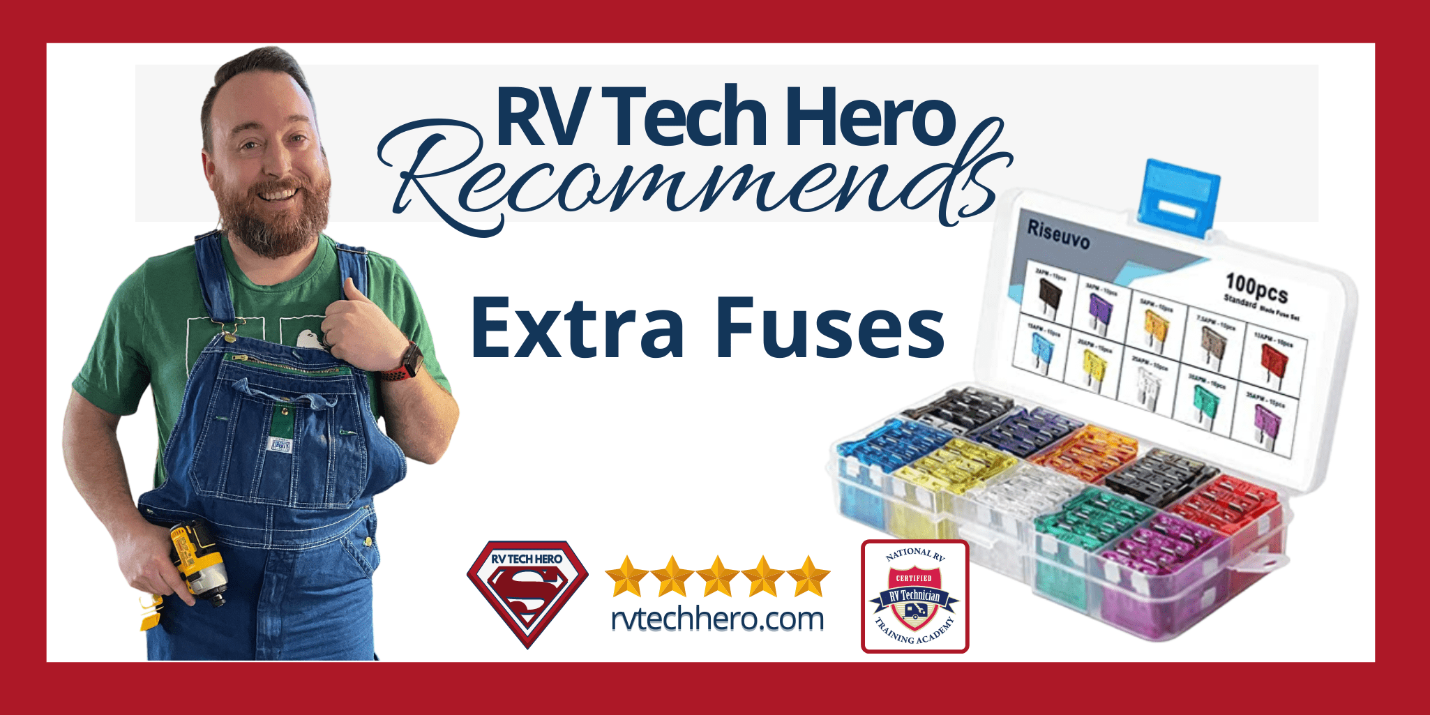 RV Tech Hero Recommends Extra Fuses