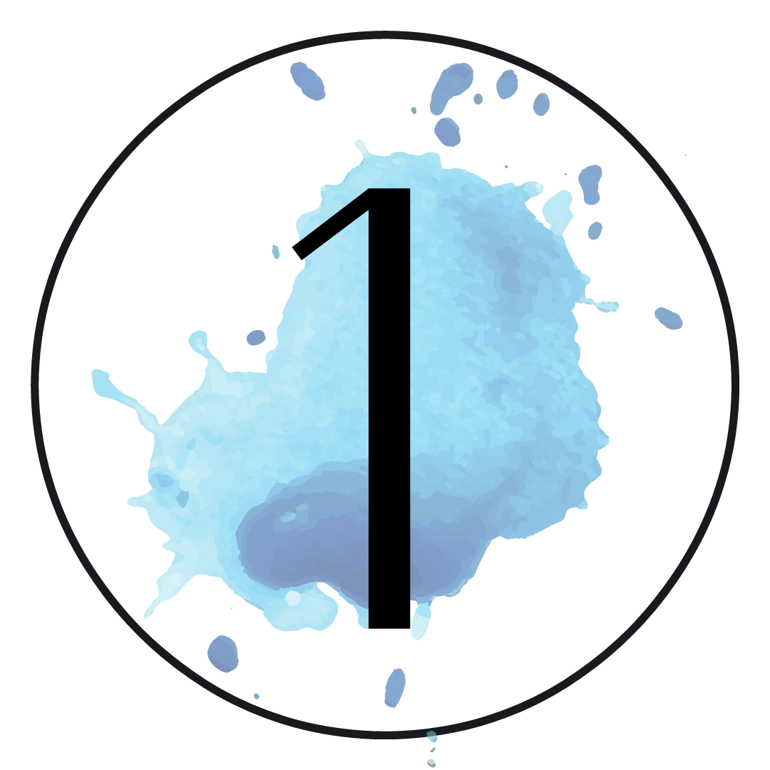 Number one - High Tide graphic