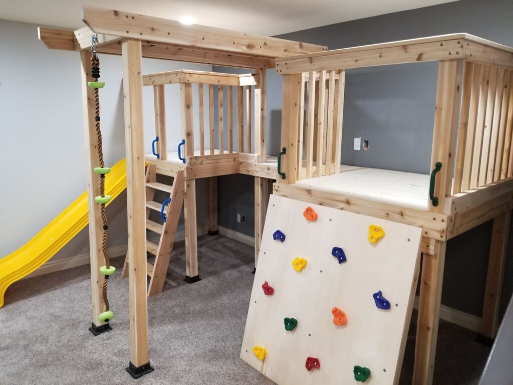 Double Tower Play-loft