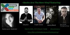 Books Are The New Vinyl #Twitter post