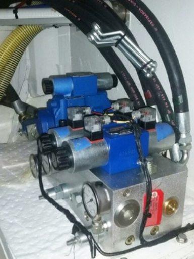 New installation of valve blocks