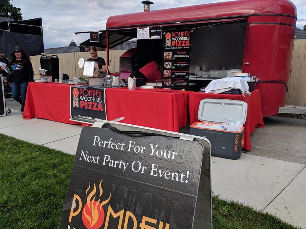 Pompeii's food truck