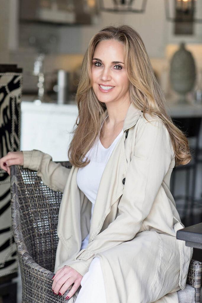 Andrea Correale, president of Elegant Affairs in Glen Cove, N.Y.