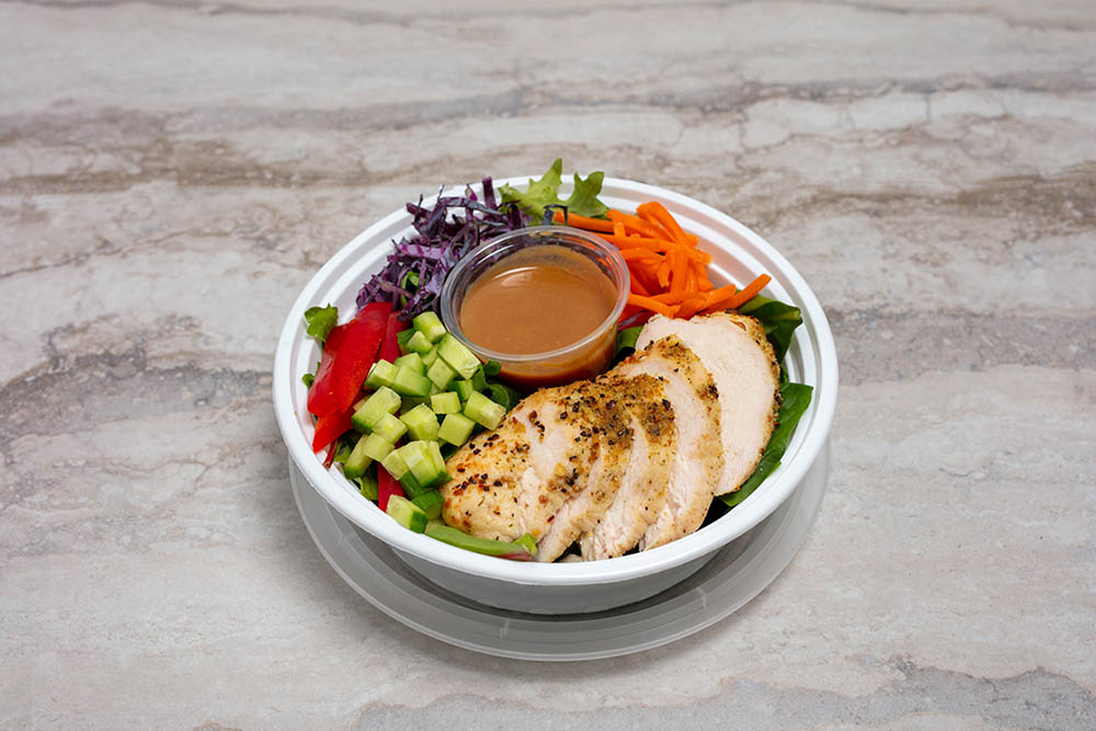 Crunchy Thai salad, an option on Simply Plated's rotating prepared meal delivery menu.
