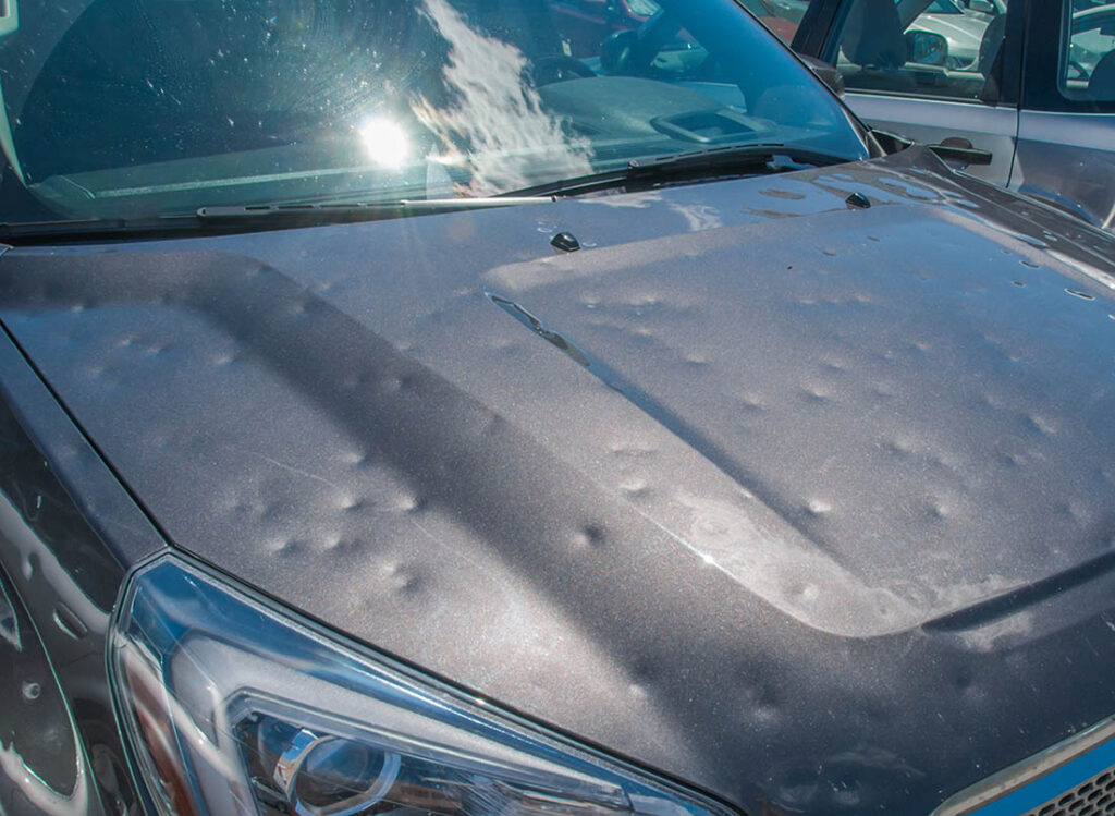 Business owners can mitigate damage from hail if they invest a little time into preventative measures.
