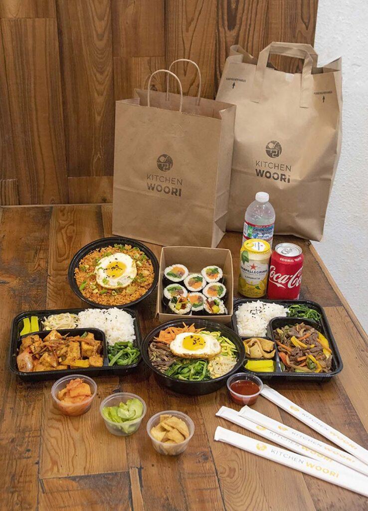 Kitchen Woori serves up healthy, traditional Korean food.
